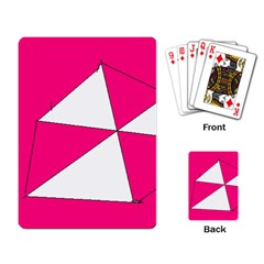 Pink White Art Kids 7000 Playing Cards Single Design