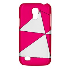 Pink White Art Kids 7000 Samsung Galaxy S4 Mini (GT-I9190) Hardshell Case