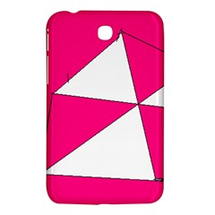Pink White Art Kids 7000 Samsung Galaxy Tab 3 (7 ) P3200 Hardshell Case