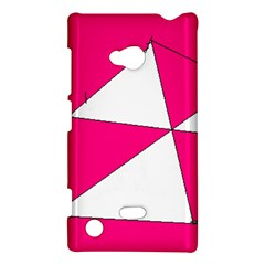 Pink White Art Kids 7000 Nokia Lumia 720 Hardshell Case