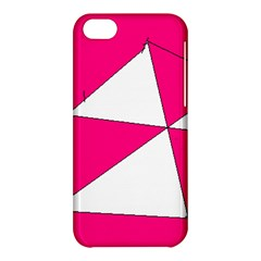 Pink White Art Kids 7000 Apple iPhone 5C Hardshell Case