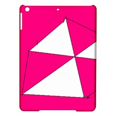 Pink White Art Kids 7000 Apple iPad Air Hardshell Case