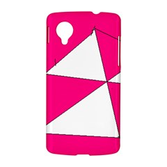Pink White Art Kids 7000 Google Nexus 5 Hardshell Case