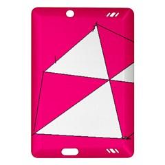 Pink White Art Kids 7000 Kindle Fire HD (2013) Hardshell Case