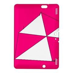 Pink White Art Kids 7000 Kindle Fire HDX 8.9  Hardshell Case