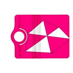 Pink White Art Kids 7000 Kindle Fire Hd (2013) Flip 360 Case