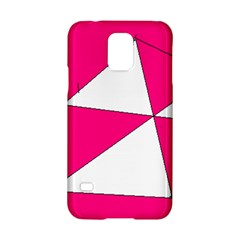 Pink White Art Kids 7000 Samsung Galaxy S5 Hardshell Case