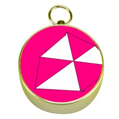 Pink White Art Kids 7000 Gold Compass