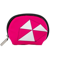 Pink White Art Kids 7000 Accessory Pouch (Small)