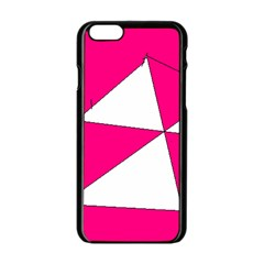 Pink White Art Kids 7000 Apple iPhone 6 Black Enamel Case