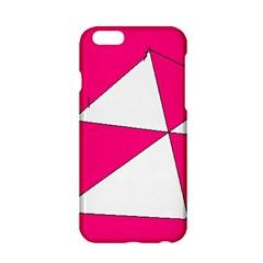 Pink White Art Kids 7000 Apple iPhone 6 Hardshell Case