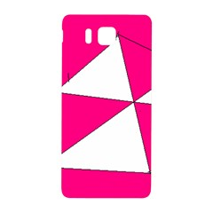 Pink White Art Kids 7000 Samsung Galaxy Alpha Hardshell Back Case