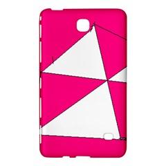Pink White Art Kids 7000 Samsung Galaxy Tab 4 (8 ) Hardshell Case