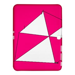 Pink White Art Kids 7000 Samsung Galaxy Tab 4 (10 1 ) Hardshell Case