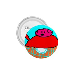 Sweet Pig Knoremans, Art by Kids 1.75  Button