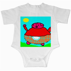 Sweet Pig Knoremans, Art by Kids Infant Bodysuit