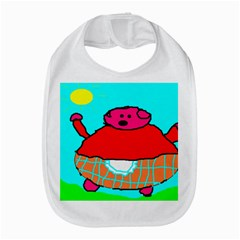 Sweet Pig Knoremans, Art by Kids Bib