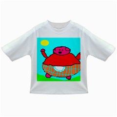 Sweet Pig Knoremans, Art By Kids Baby T Shirt