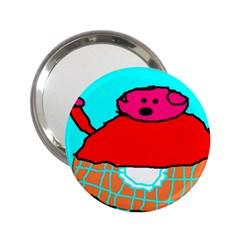 Sweet Pig Knoremans, Art By Kids Handbag Mirror (2 25 )