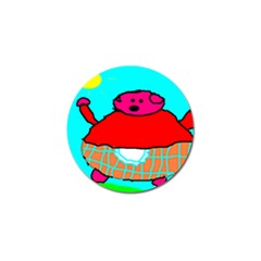 Sweet Pig Knoremans, Art By Kids Golf Ball Marker 10 Pack