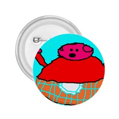 Sweet Pig Knoremans, Art By Kids 2 25  Button