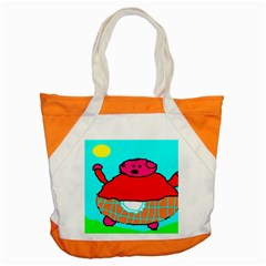 Sweet Pig Knoremans, Art By Kids Accent Tote Bag