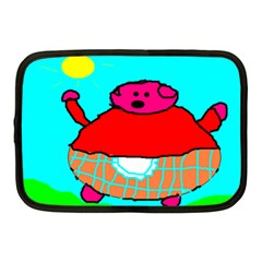 Sweet Pig Knoremans, Art By Kids Netbook Sleeve (medium)