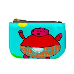 Sweet Pig Knoremans, Art By Kids Coin Change Purse