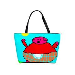 Sweet Pig Knoremans, Art By Kids Large Shoulder Bag