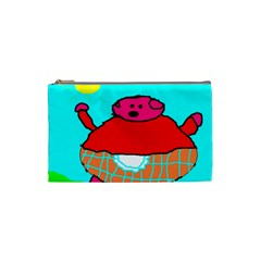 Sweet Pig Knoremans, Art By Kids Cosmetic Bag (small)