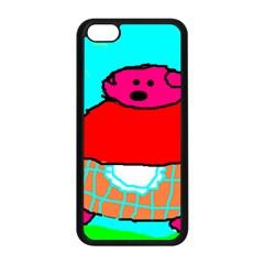 Sweet Pig Knoremans, Art by Kids Apple iPhone 5C Seamless Case (Black)
