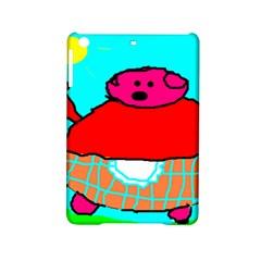 Sweet Pig Knoremans, Art by Kids Apple iPad Mini 2 Hardshell Case