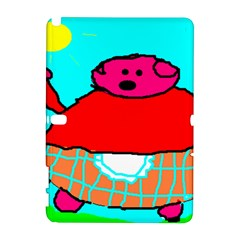 Sweet Pig Knoremans, Art by Kids Samsung Galaxy Note 10.1 (P600) Hardshell Case
