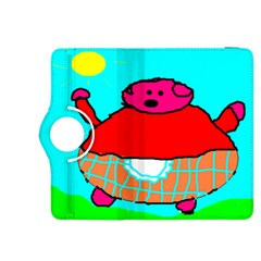 Sweet Pig Knoremans, Art by Kids Kindle Fire HDX 8.9  Flip 360 Case