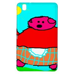 Sweet Pig Knoremans, Art by Kids Samsung Galaxy Tab Pro 8.4 Hardshell Case