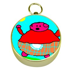 Sweet Pig Knoremans, Art by Kids Gold Compass