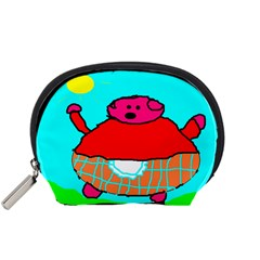 Sweet Pig Knoremans, Art by Kids Accessory Pouch (Small)