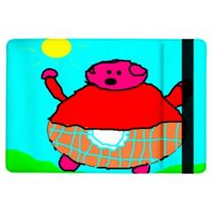 Sweet Pig Knoremans, Art by Kids Apple iPad Air Flip Case