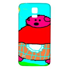 Sweet Pig Knoremans, Art by Kids Samsung Galaxy S5 Back Case (White)