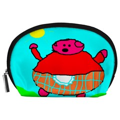Sweet Pig Knoremans, Art By Kids Accessory Pouch (large)