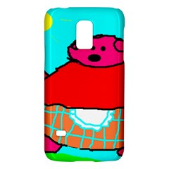 Sweet Pig Knoremans, Art by Kids Samsung Galaxy S5 Mini Hardshell Case