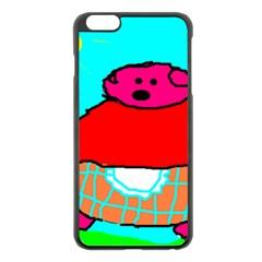 Sweet Pig Knoremans, Art by Kids Apple iPhone 6 Plus Black Enamel Case