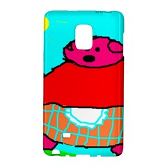 Sweet Pig Knoremans, Art by Kids Samsung Galaxy Note Edge Hardshell Case