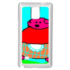Sweet Pig Knoremans, Art by Kids Samsung Galaxy Note 4 Case (White)