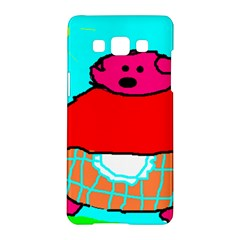 Sweet Pig Knoremans, Art by Kids Samsung Galaxy A5 Hardshell Case