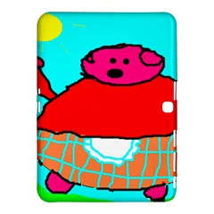 Sweet Pig Knoremans, Art by Kids Samsung Galaxy Tab 4 (10.1 ) Hardshell Case