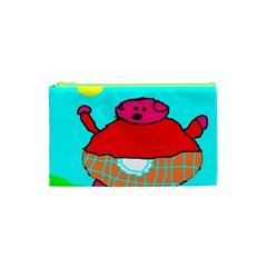 Sweet Pig Knoremans, Art by Kids Cosmetic Bag (XS)
