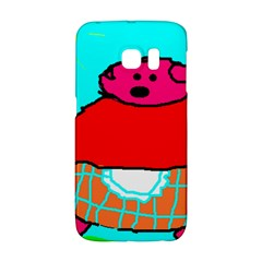 Sweet Pig Knoremans, Art By Kids Samsung Galaxy S6 Edge Hardshell Case