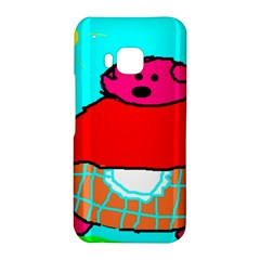 Sweet Pig Knoremans, Art by Kids HTC One M9 Hardshell Case