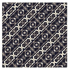 Retro Decorative Pattern Large Satin Scarf (Square)
